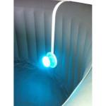 Projecteur LEDS pour spa gonflable, 7 couleurs avec télécommande