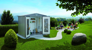 Abri Europa gris quartz, 3,80 m²